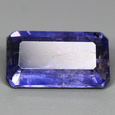 2.48 Cts-Superb Intense Tanzanite Purplish Blue-100 % Natural Iolite-Sri Lanka