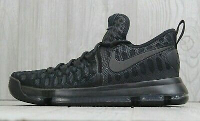 2cfabc073a2 31 Nike Mens Zoom KD 9 IX Kevin Durant Black Anthracite Shoes 843392-001 9