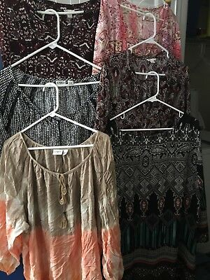Lot of 6 Cato Womens Plus Size Shirts 26/28