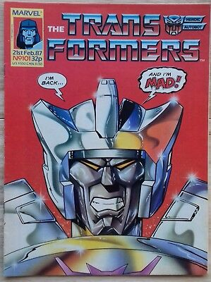 Transformers UK Comic Issue 101