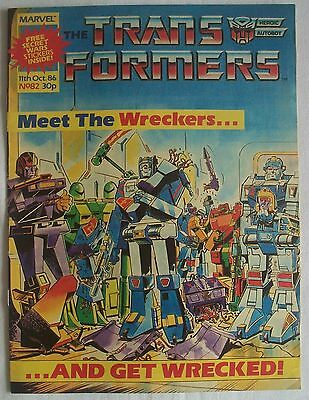 Transformers UK Comic Issue 82