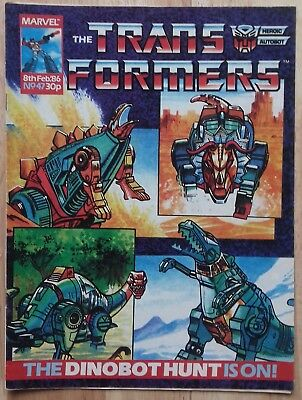Transformers UK Comic Issue 47