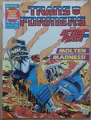 Transformers UK Comic Issue 160