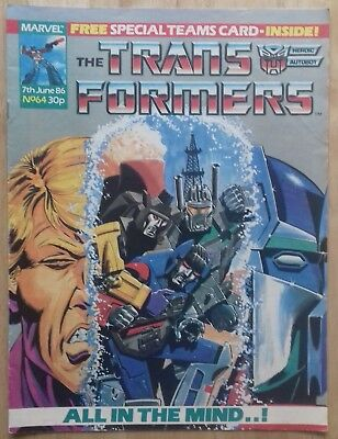 Transformers UK Comic Issue 64