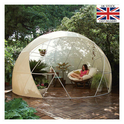 Garden Igloo 360 large garden igloo 360 dome with pvc weatherproof cover summer house