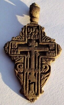 Authentic Medieval / Post Medieval Cross Pendant - Wearable #1