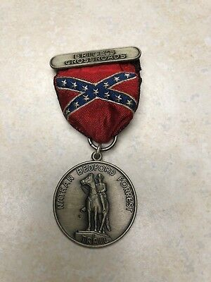 Boy Scout Nathan Bedford Forrest Trail Medal Brices Crossroads