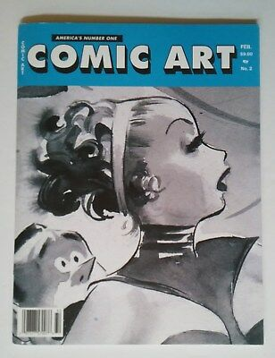 """comic Art"" Magazine No.2 2003 Jake Cole Pin-Up Companion Mag To ""illustration"""