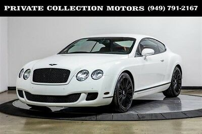 2008 Bentley Continental GT  2008 Bentley Continental GT Speed Clean Carfax Low Miles Well Kept