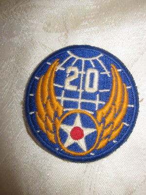 Vintage! Original Ww2 Wwii Us Army Air Force Patch Usaf Us Army Air Corps