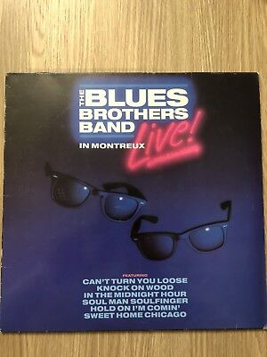 The Blues Brothers Band Live In Montreux Laserdisc Laser Disc Rare