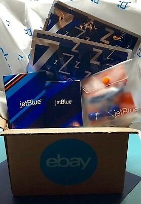 JETBlue Large Playing Cards And Tic Tac Toe Game Board W/ Pieces (NEW/Unopened)
