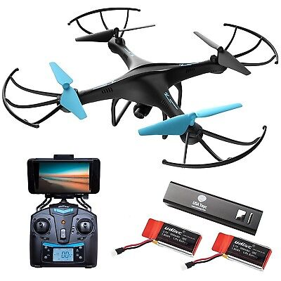 """force 1 drone with Camera Live Video """"U45W Blue Jay"""" WiFi FPV"""