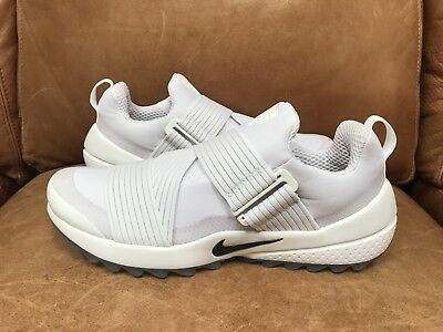 7510bb6b4b48c1 New Nike Air Zoom Gimme Golf Shoes Size 9 849955-100 White   Beige Rare