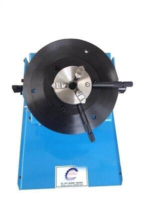10Kg Light Duty Automatic Welding Positioner With K11 80Mm 3-Jaw Chuck 220V Y fu