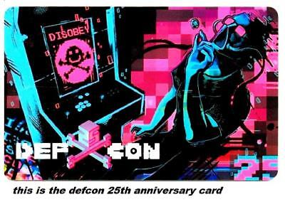 BALLY'S casino *Def Con 25th anniversary*las vegas NV hotel key card*Free Ship!