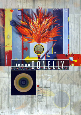 Tanya Donelly New Song poster UK promo 16 X 23 4AD 1996