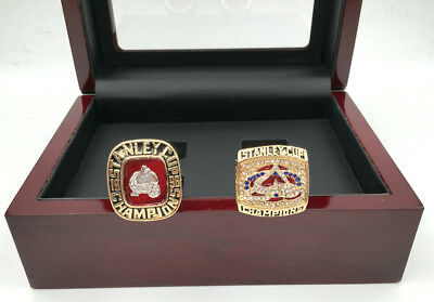 2 Pcs 1996 2001 Colorado Avalanche Stanley Cup Championship Ring !!