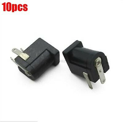 10Pcs Dc Power Jack Supply Socket DC-005 2.0MM Female Pcb Charger Power Plug ki