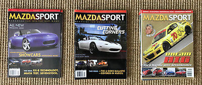 Mazda Sport Magazines - 2004 to 2008 - 14 issues
