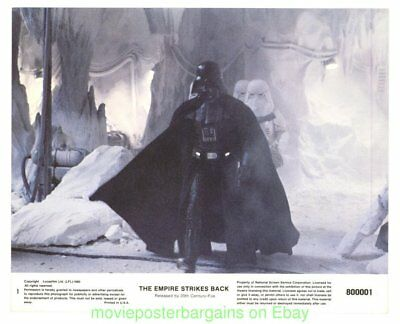 THE EMPIRE STRIKES BACK MOVIE POSTER 3 Orig. LOBBY CARD 'S 8 x 10 STAR WARS Film