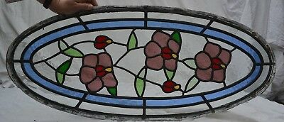 British leaded light stained glass window panels. B800. WORLDWIDE DELIVERY!