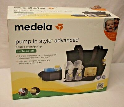 Medela Pump In Style Advanced Double Breastpump ON-THE-GO-TOTE (57063) NEW