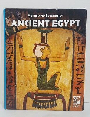 MYTHS AND LEGENDS OF ANCIENT EGYPT, (A GROSSET ALL-COLOR GUIDE, By T. G. H James