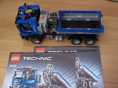 Lego Technic 8052 Skip Container Truck With Instructions Free Post