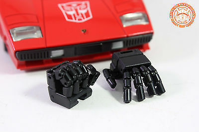 New KFC Toy KP10 Posable Hands for Transformers MP12 MP14 Sideswipe Red Alert