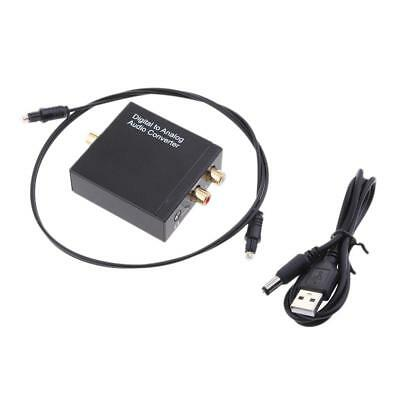 Digital to Analog Audio Converter Optical Coaxial Toslink SPDIF RCA R/L AUX