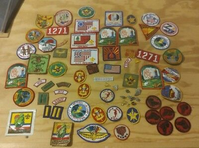 BSA Patch Lot and Extras Boy Scouts of America