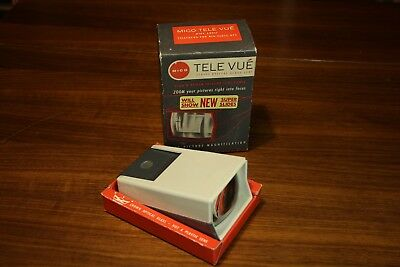 Vintge Mico Tele Vue Slide 35mm slide viewer Working with box Made in Chicago