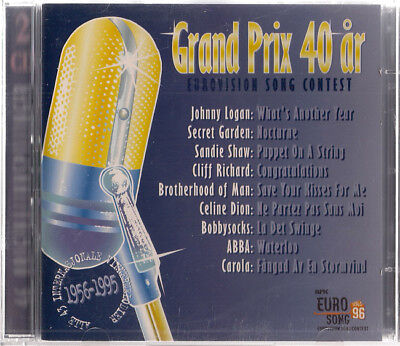 Grand Prix 40 år - Eurovision Song Contest 40 years 2CD Norwegian release