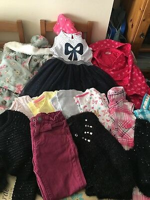 Girls clothing size 4-5 years