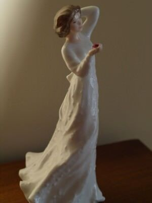 "Mint Royal Doulton Figurine ""With Love"", Made in England, HN 3393, Circa 1992"