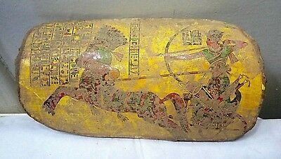 ANCIENT EGYPTIAN ANTIQUE POTTERY FRAGMENT Fighting Pharaoh Ramses II Miamun