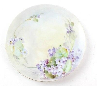 "Antique J & C Bavaria Hand Painted fine Porcelain 8.5"" Plate Made in Germany"