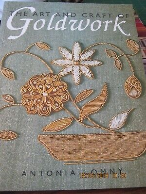 The Art And Craft Of Goldwork By Antonia Lomny 63 Pages New