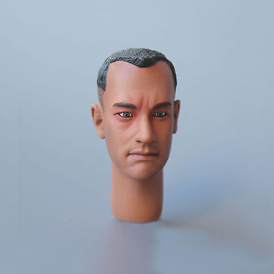 "1/6th Scale Forrest Gump Tom Hanks Head Sculpt Toy Model For 12"" Action Figure"