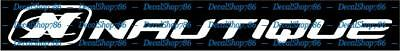 Nautique Boats  - Sports - Car/SUV/Truck Vinyl Die-Cut Peel N' Stick Decals