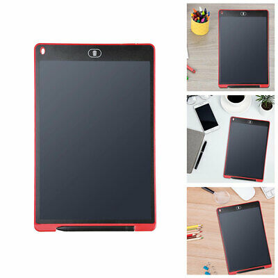 "12"" Electronic Digital LCD Writing Tablet Kid DIY Drawing Board Memo Pad Stylus"