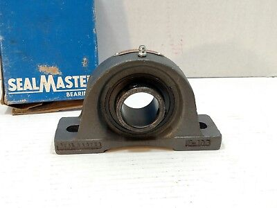 "SEALMASTER NP-23 1 7/16"" PILLOW BLOCK BEARING Gold Line T10"