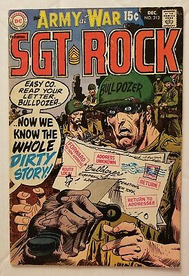 Our Army At War #213 (Dc Comics 1969) Sgt. Rock! Classic Dc War Comics!