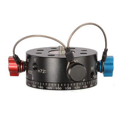 Leofoto DH-60 Low Center-of-Gravity Touch Index Pan Panoramic PTZ Photography