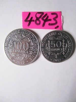2 x  coins from  French West Africa      7  gms      Mar4843