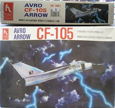 Hobby Craft HC1651 Avro CF-105 Arrow 1/48 (fss60),