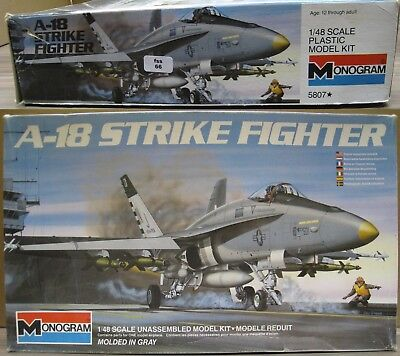 Monogram 5807 A-18 Strike Fighter 1/48 (fss66)