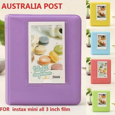 64 Pockets for Polaroid FujiFilm Instax Mini Album 7 7S 8 9 Camera Photo Film AU