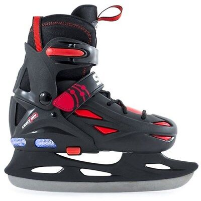Ice Skates. Kids Ice Skates. SFR Light Up Eclipse Adjustable Hockey Ice Skates